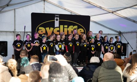 Rotary Aycliffe Supports Shine Children's Choir