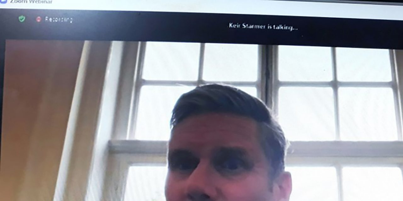 Resident has One to One Zoom Meeting with Sir Keir Starmer