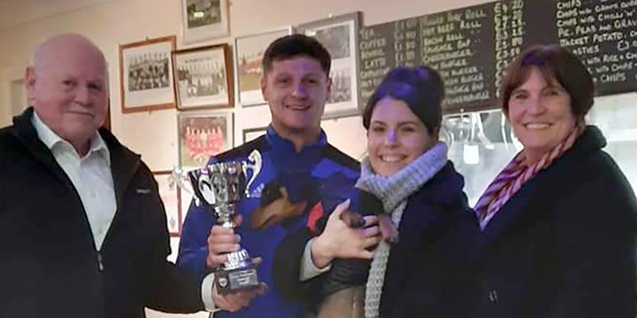 Frank Swinburne Trophy Returns to Aycliffe