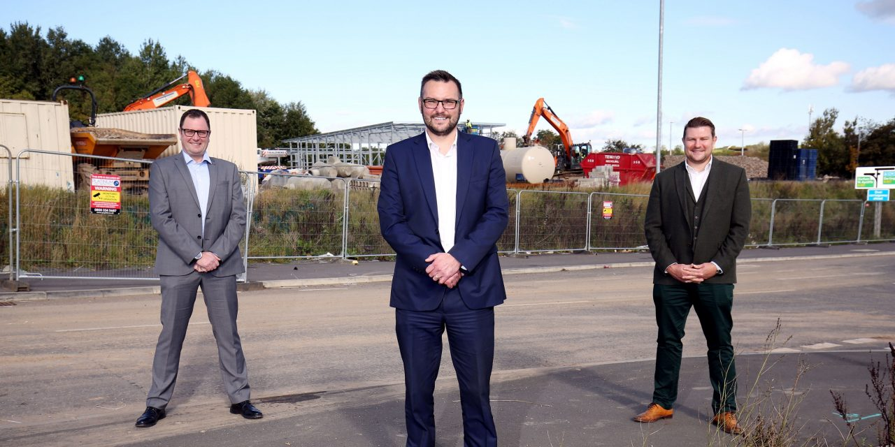 Construction Gets Under Way at £140m Business Park
