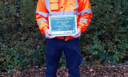 Consett Cemetery Wins National Award