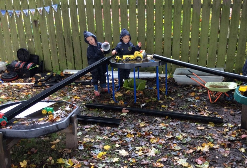 Swapping the Classroom for an Adventure Garden