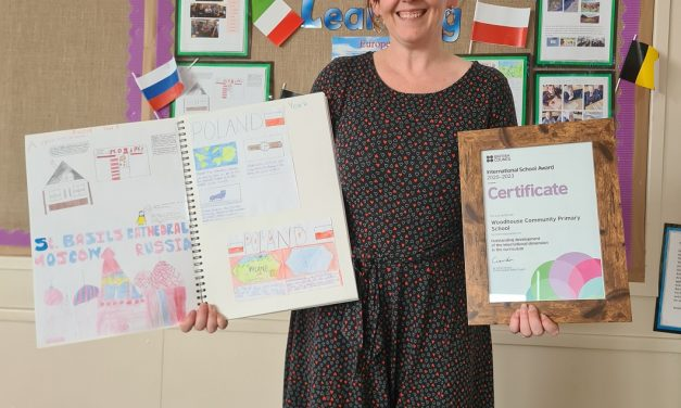 Schools awarded for their global efforts