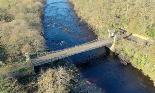 Grade II-Listed Bridge to Close Until Further Notice