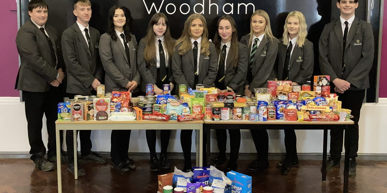 Leadership Academy Donate to Food Bank