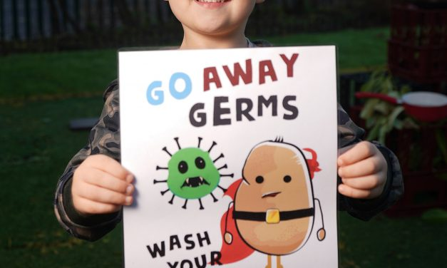 Schoolchildren get creative to design handwashing posters as part of battle to beat coronavirus pandemic