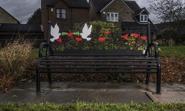 New First World War memorial bench part of Find and Fix project at Gilesgate