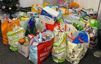 Generosity at Greenfield Community College