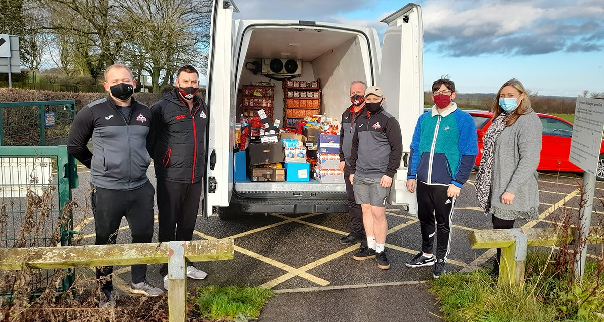 Heighington FC Support Food Banks