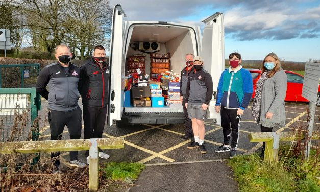 Heighington FC Support Food Banks