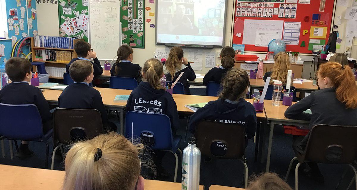 Virtual Village School Story Writing Session