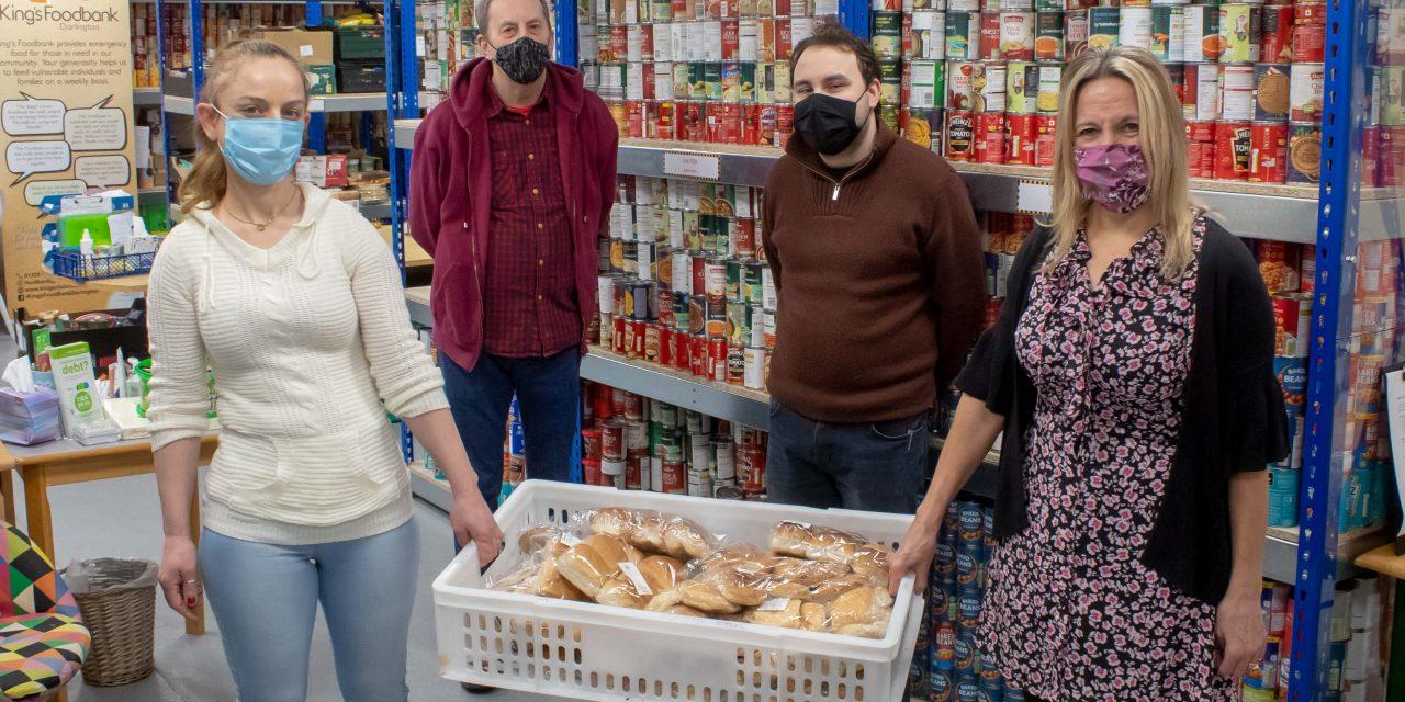 Building Society Donation Boosts Darlington Foodbank