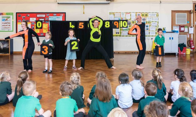 School children going 'dance crazy' for online maths