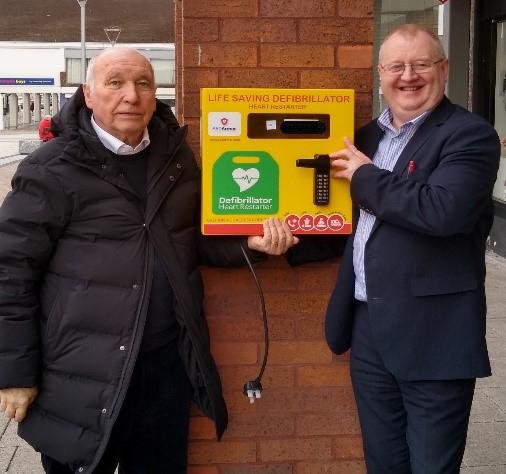 Update on Newton Aycliffe Defibrillators Units