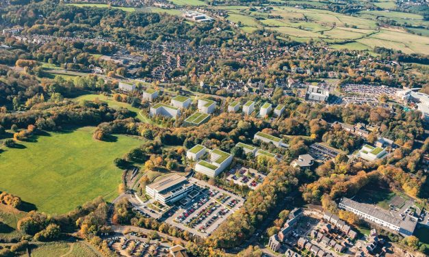 Milestone Moment as Work Begins at £400m Business Park for County