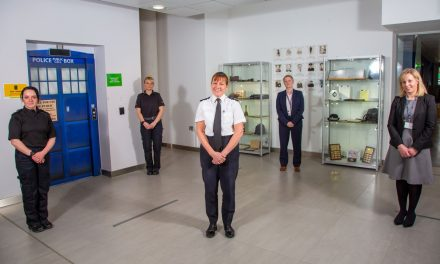 Durhams Newest Sergeants Congratulated by CC Farrell