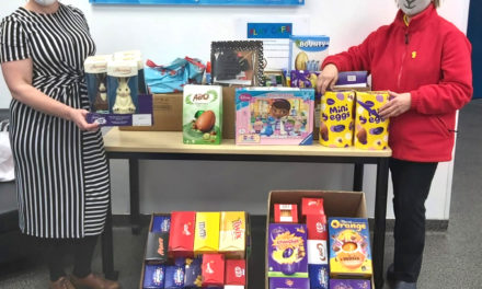 3M Donate Easter Packs to Play Café