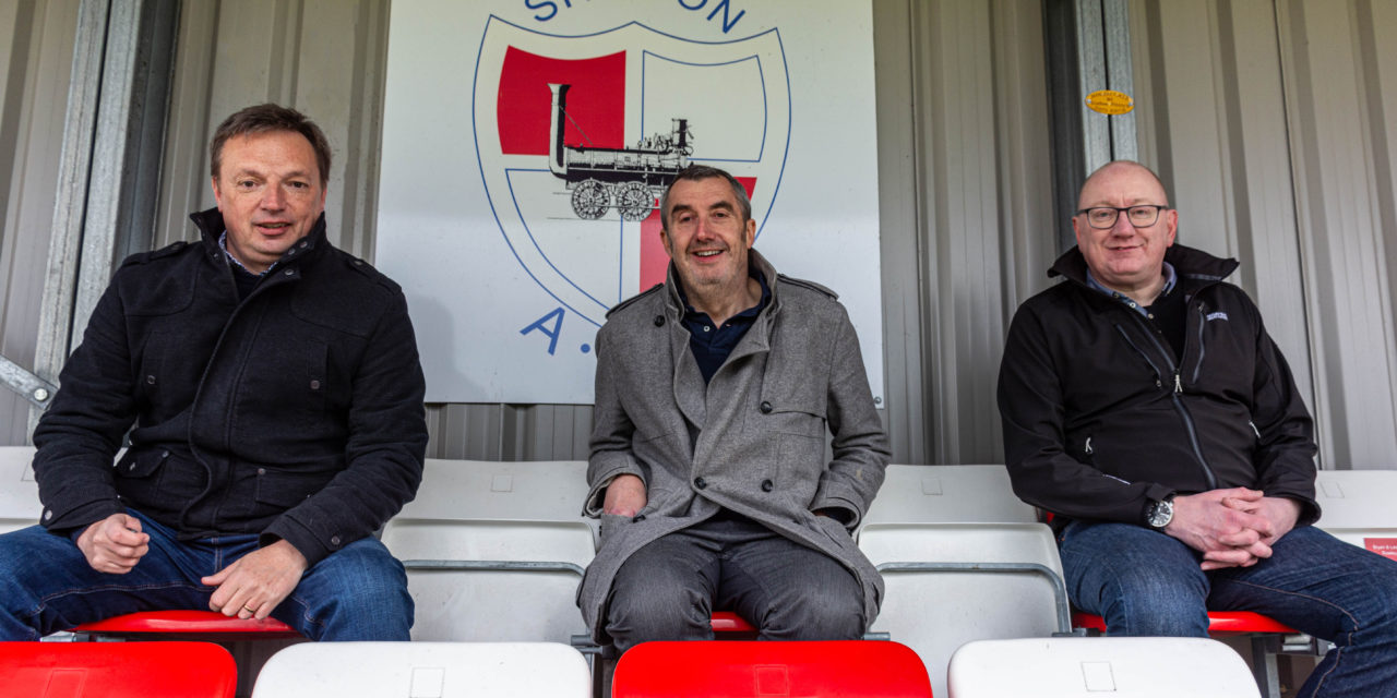Shildon AFC £25k Buildbase bursary win brings new space to fans and community
