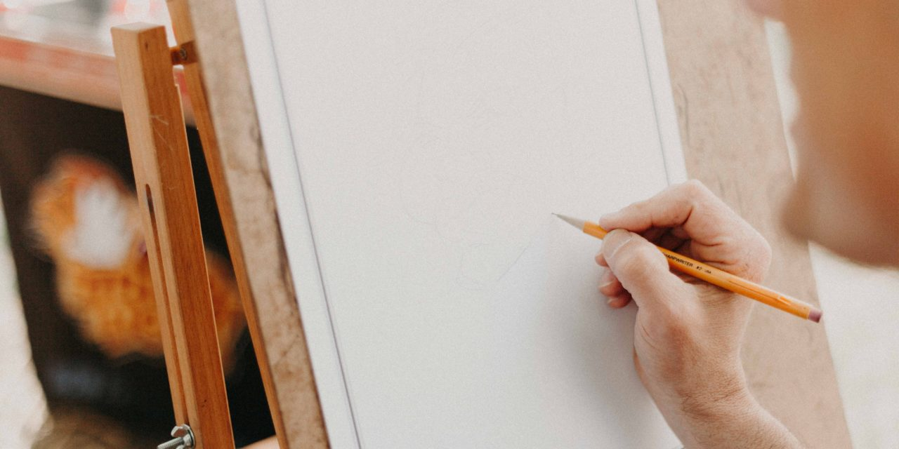Sketching at Greenfield Arts
