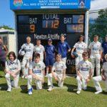Aycliffe Cricket Club Scoreboard Report