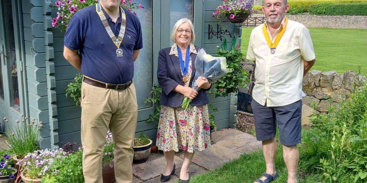 Rotary Newton Aycliffe Handover