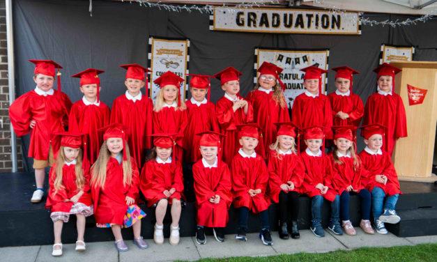 Nursery Graduates 'Party On'
