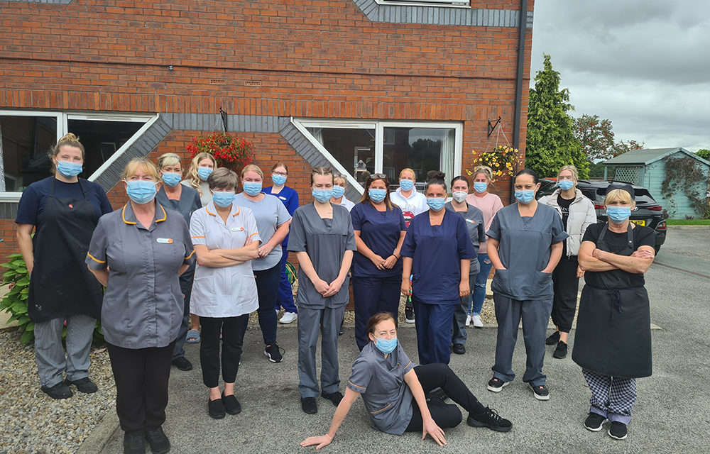 Care Home Team Shortlisted for a National Care Award