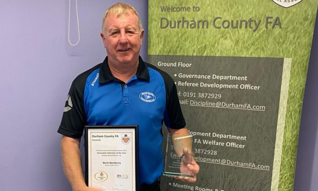 Award for Youthy FC Secretary