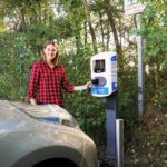 Making electric vehicle charging points more accessible