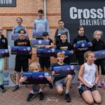 Podium Positions at Castle Games for Crossfit Kids